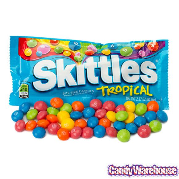 Darkside Skittles feature the same chewy, bite-sized candies