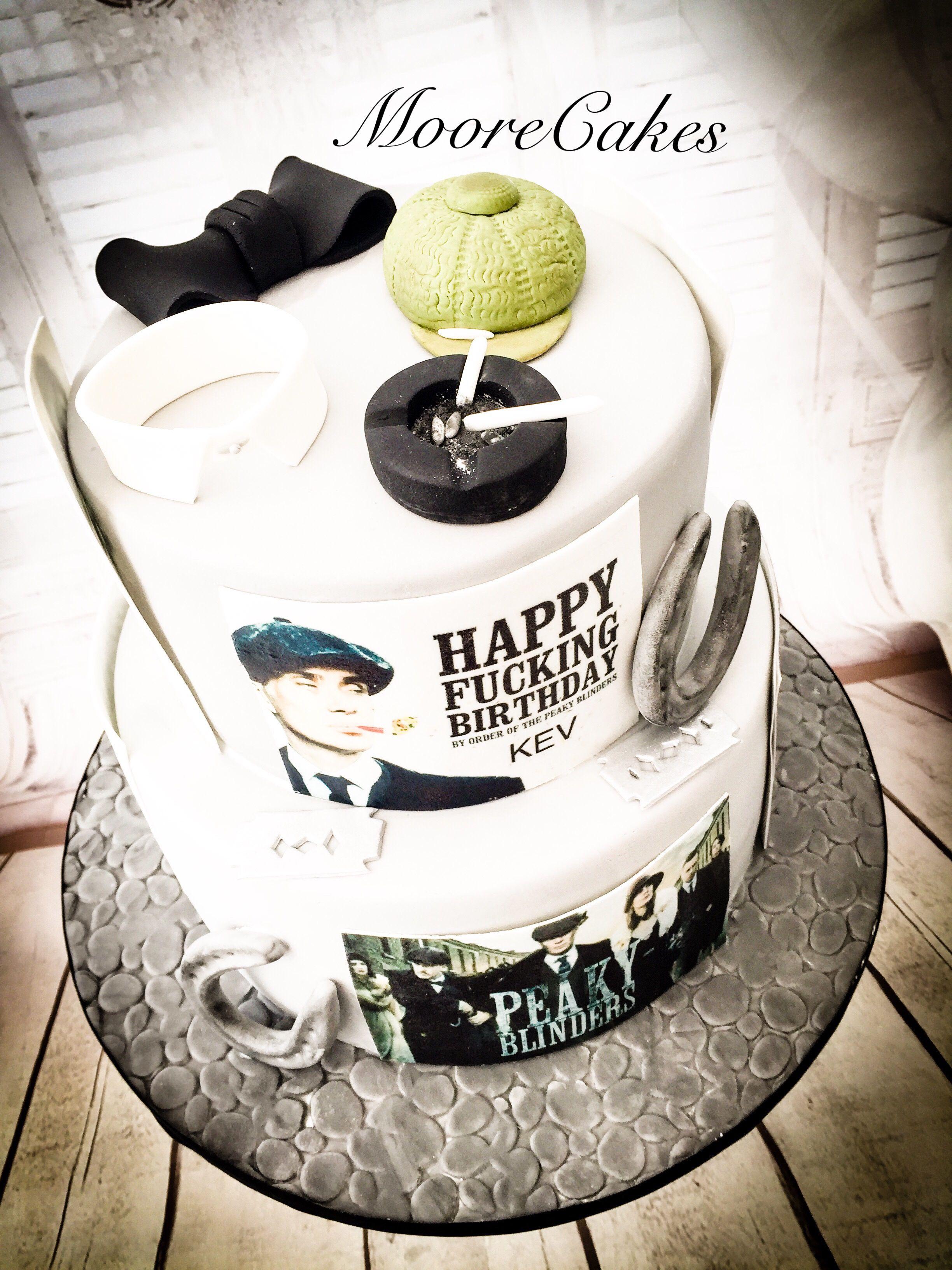 Peaky Blinders Cake Cakes 2 In 2019 Cake Birthday