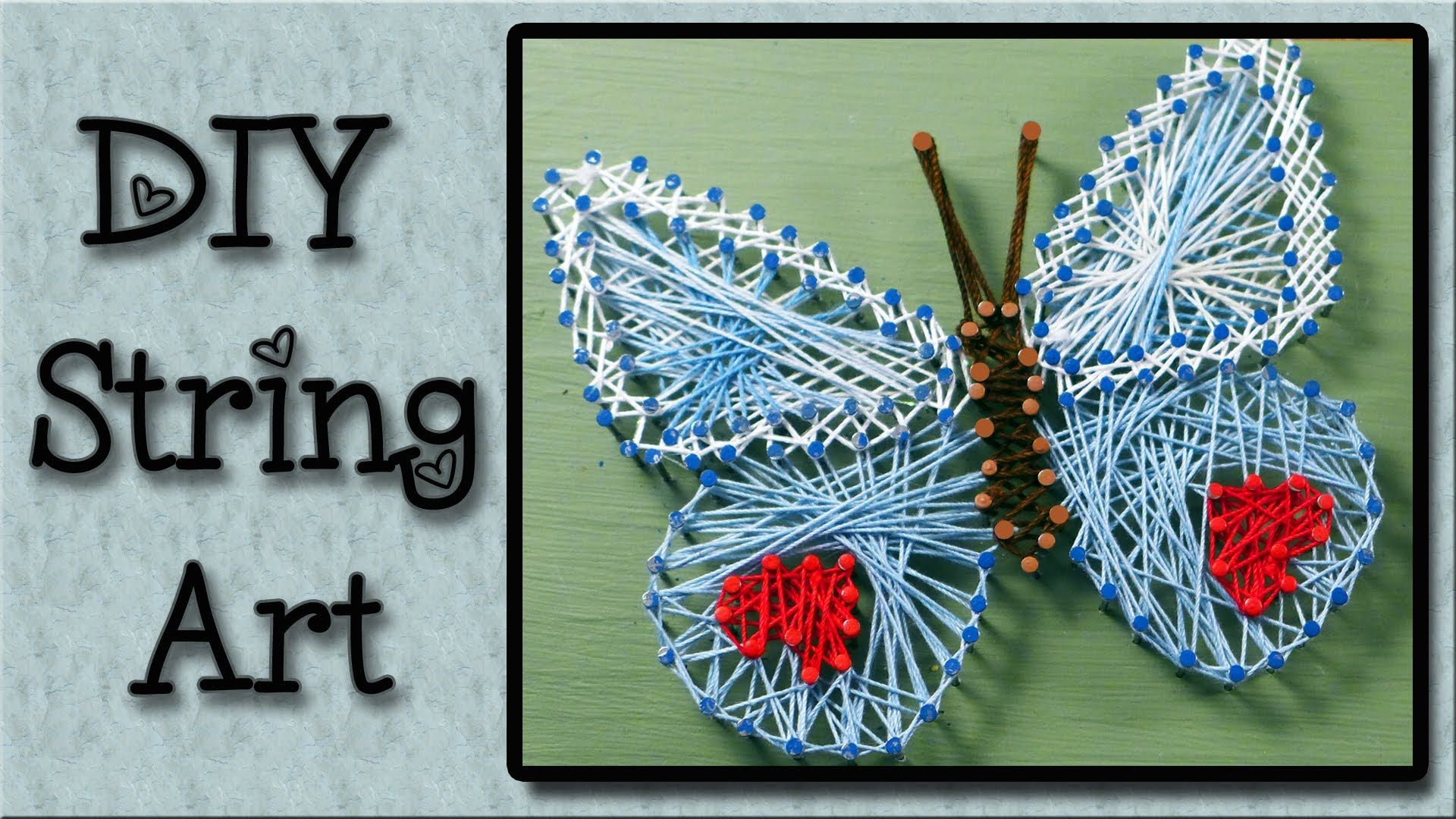 How To Do String Art String Art Tutorial An Easy Art Project For Kids Clavos E