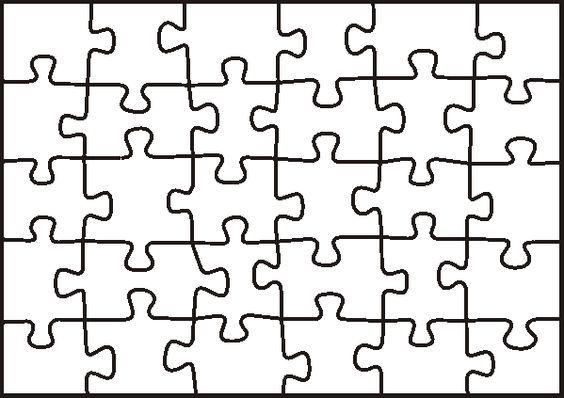 Pin by Messias Moreira on QUEBRA CABEÇA 1 Pinterest - puzzle pieces template