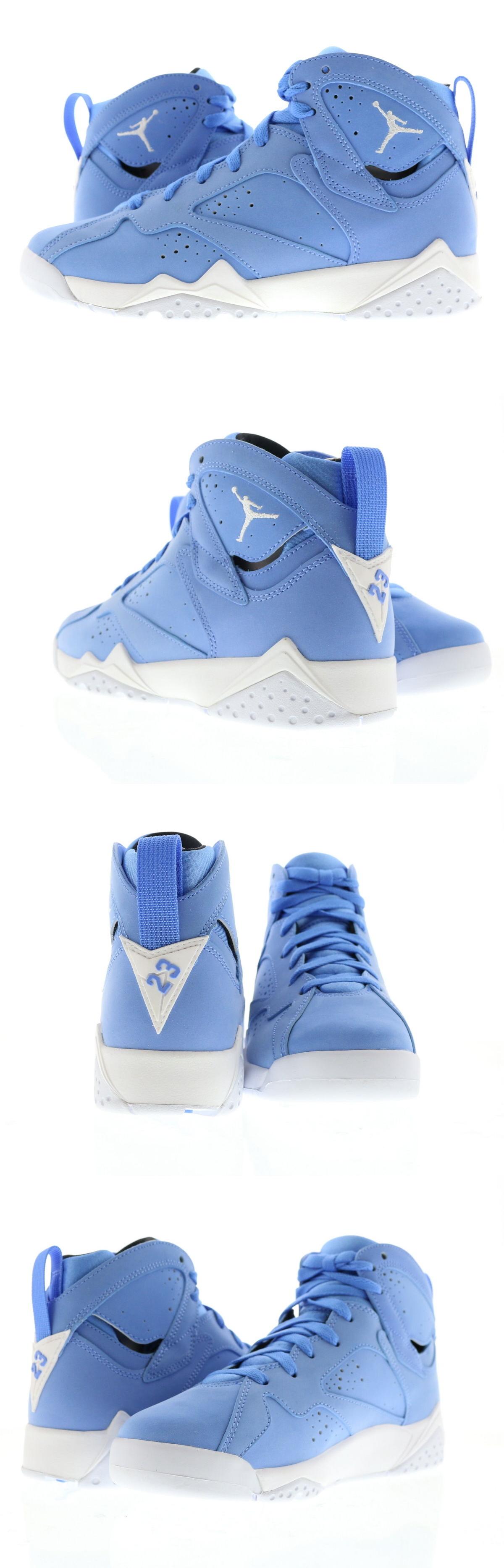 ... clearance boys shoes 57929 youth gs air jordan 7 retro pantone  university blue white 534c5 c97b8 73d8a189d