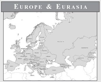 Blank Northern Eurasia Map WeSharePics world geography