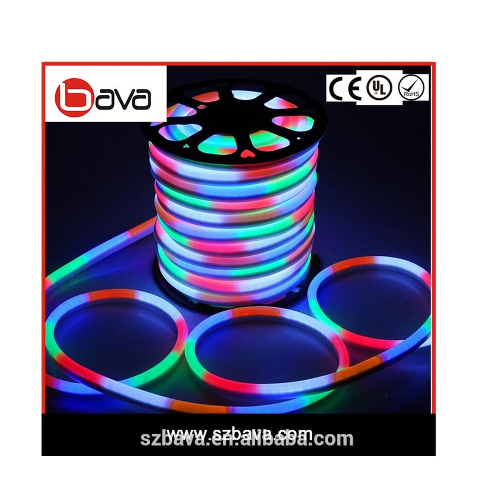Color Changing Rope Lights Classy Best Quality Waterproof Ip68 Color Changing 24V Rgb Led Neon Flex Inspiration