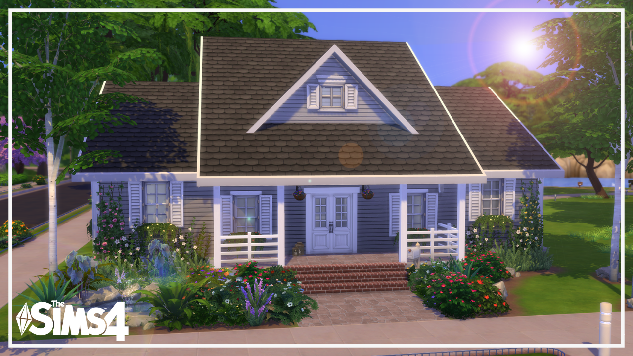 The Sims 4: Traditional HouseIncluded: -• For more Custom