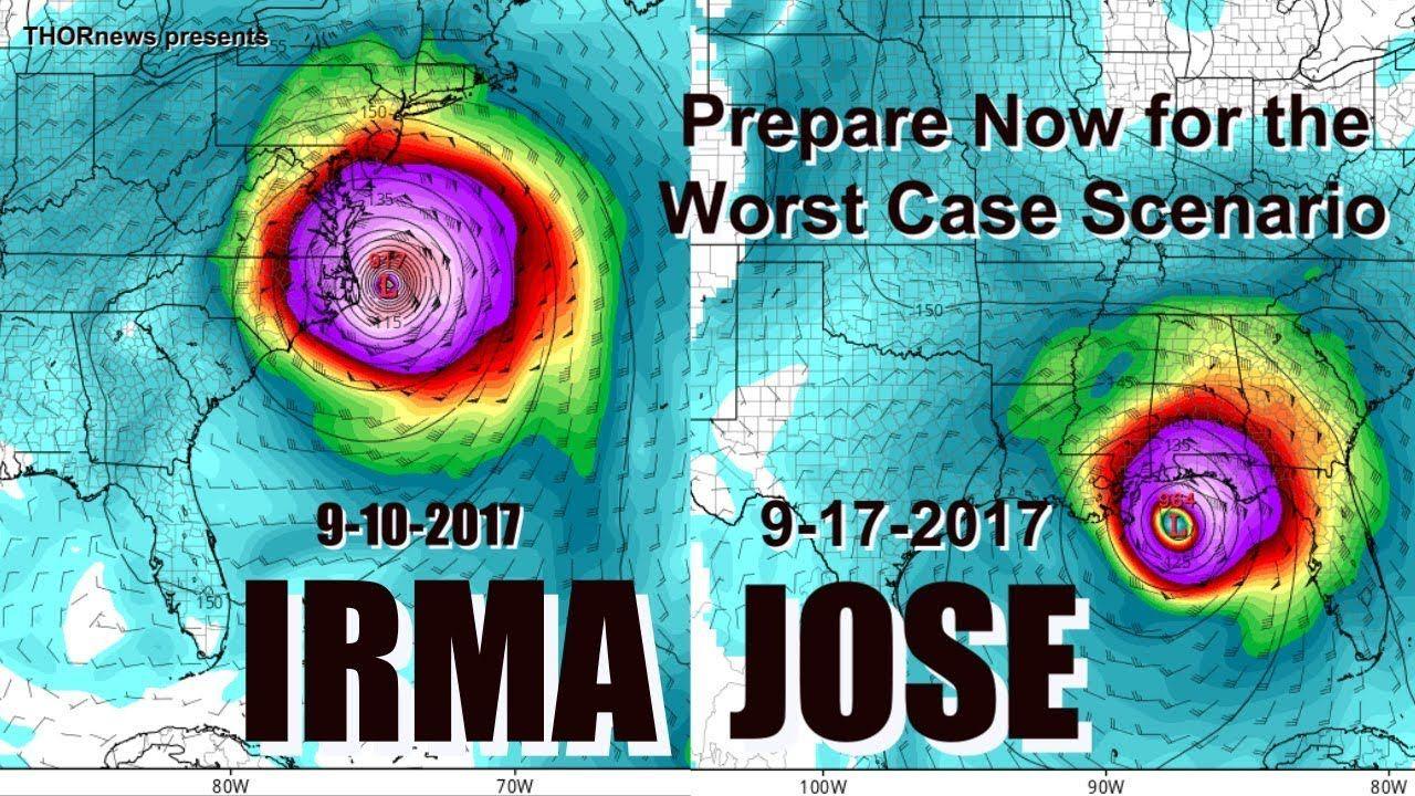Hurricane Irma Jose Arguello Chi Chi Prepare Plan For The Worst Case Scenario Now Worst Case Scenario Atlantic Hurricane How To Plan