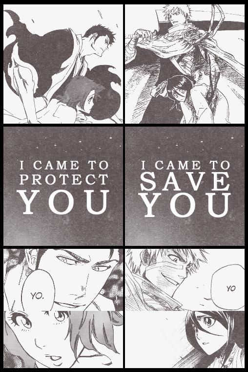 (Ichiruki) Fanedit - comparing Isshin saving Masaki (both being parents of…