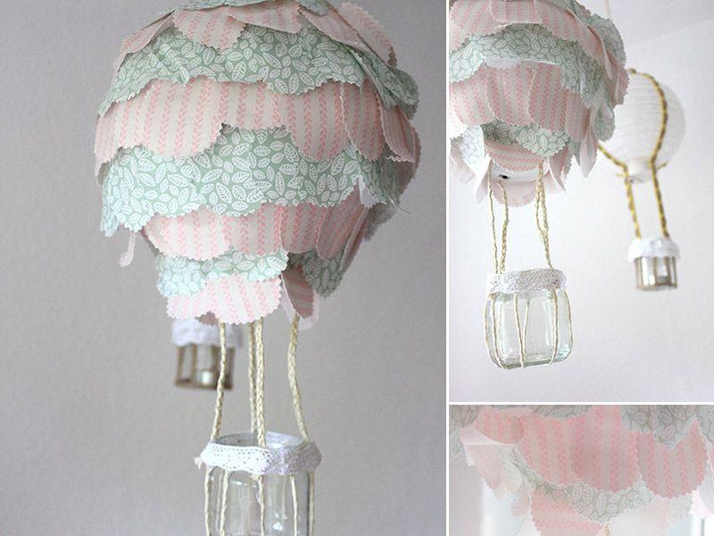 Babyzimmer Deckenlampe ~ Die besten 25 lampe kinderzimmer heißluftballon ideen auf