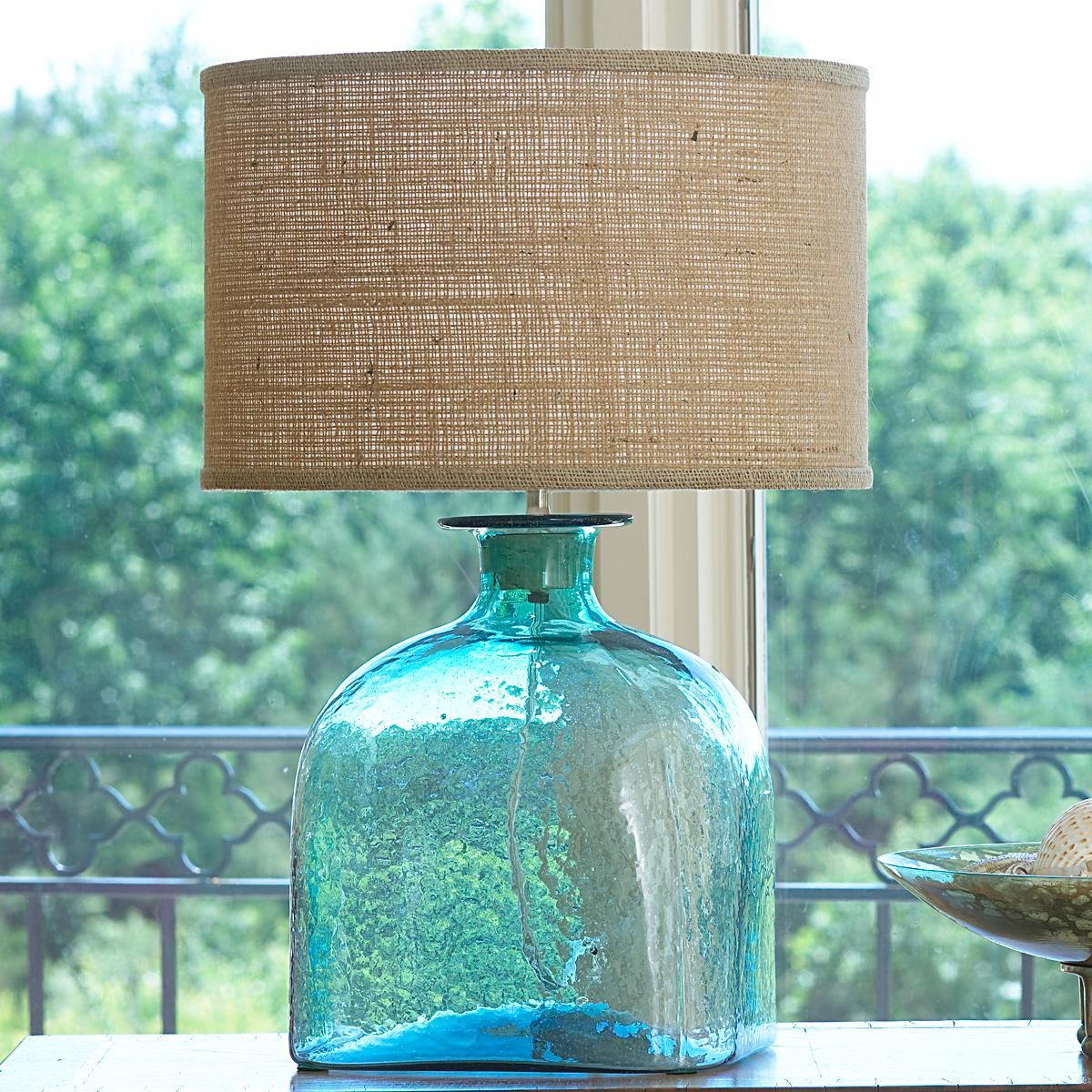 Apothecary Glass Jug Table Lamp - 4 Colors