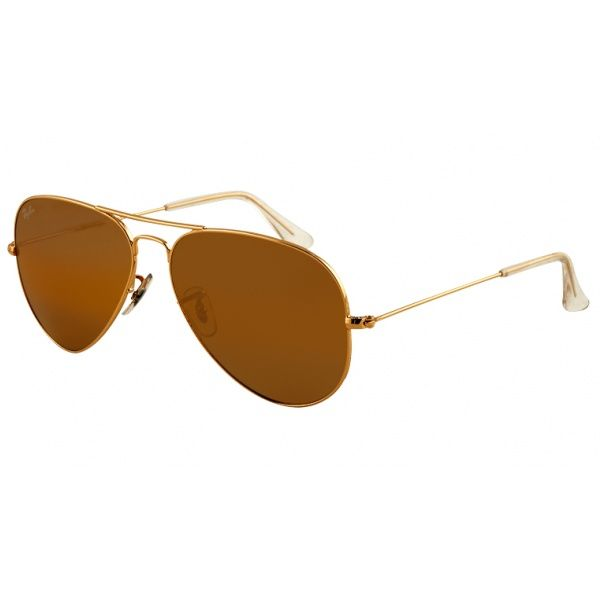 Ray Ban Aviator Large Metal RB3025 001/33 62 arista / crystal brown M4uYkDkEE