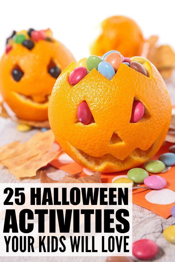 25 Halloween activities for kids   Halloween games, Boredom ...