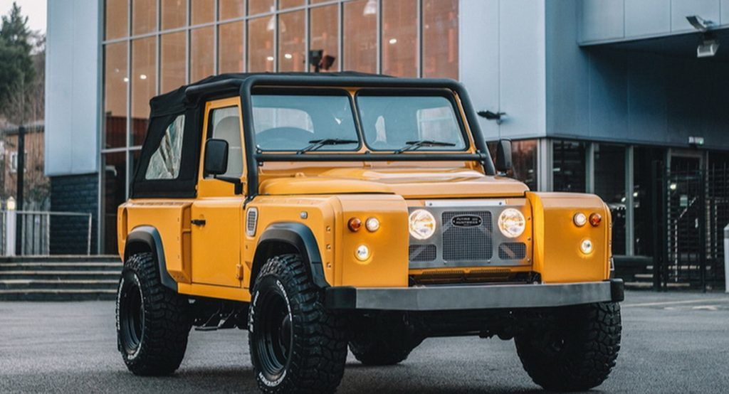 Pin By Larry Pahl On Dream Cars Land Rover Defender New
