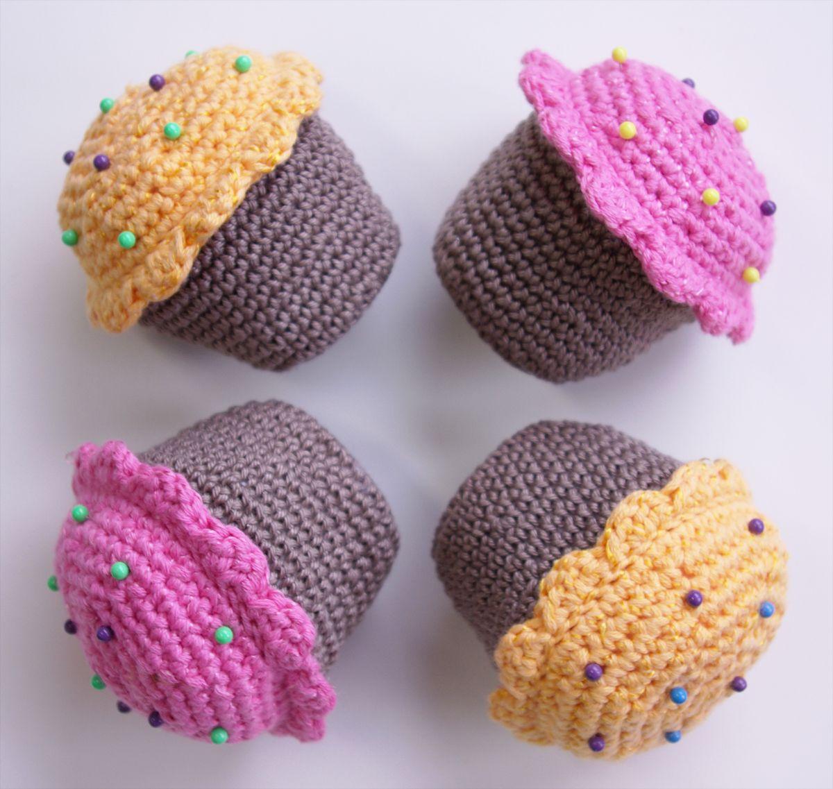 h keln muffins anleitung 2 h kelfiguren pinterest child and crochet. Black Bedroom Furniture Sets. Home Design Ideas