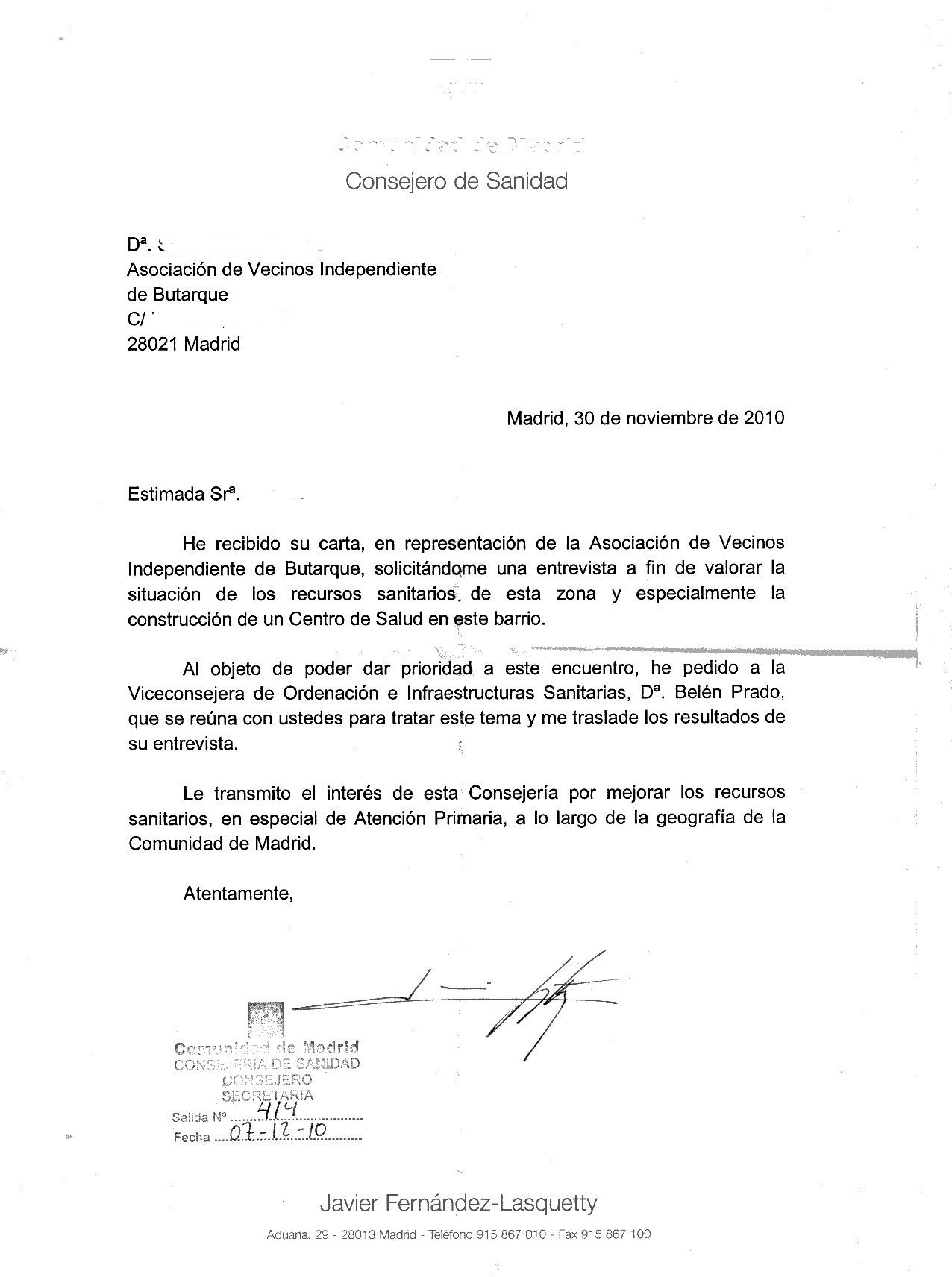 9. El tipo Documentos de los ciudadanos (peticion) Respuesta a la ...