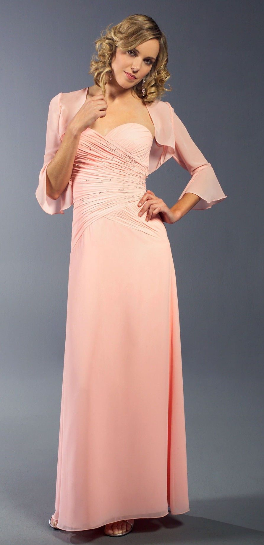 bell-sleeve-bridesmaid-dress-