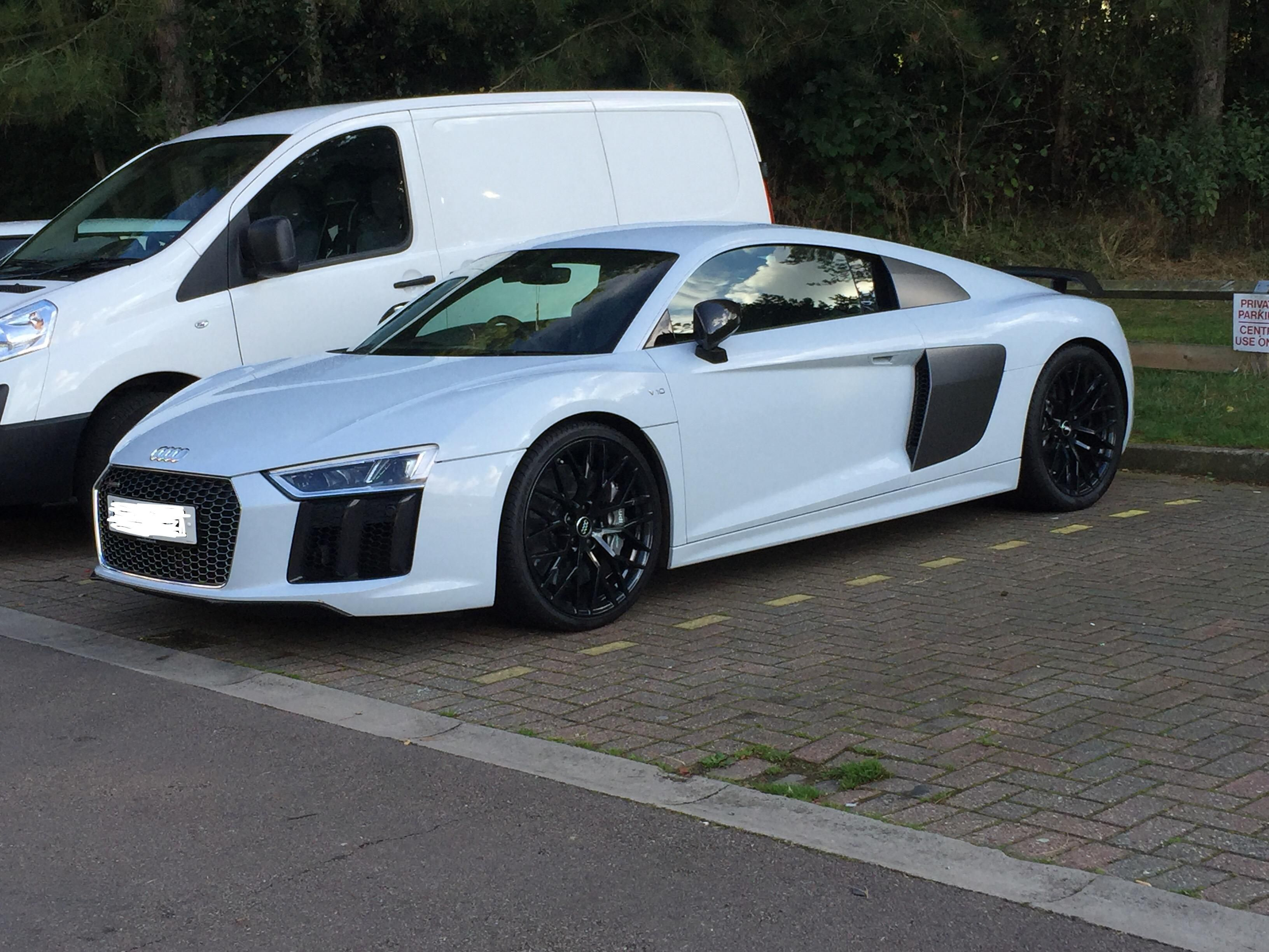 Spotted This 65 Plate Audi R8 V10 Outside A Rock Climbing Centre