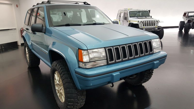 Jeep Resto Modded A 90s Grand Cherokee Off Of Craigslist And Didn