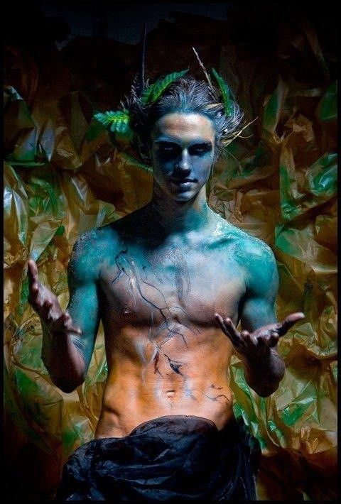 imagine this is what Dionysus or Bacchus would look like. Wild and free, god of wine and madness and ecstasy.