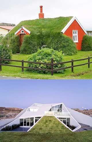 Earth Berm Homes Designs For Green Living Avec Images Toit Vert Toit Vegetal Maison Bois
