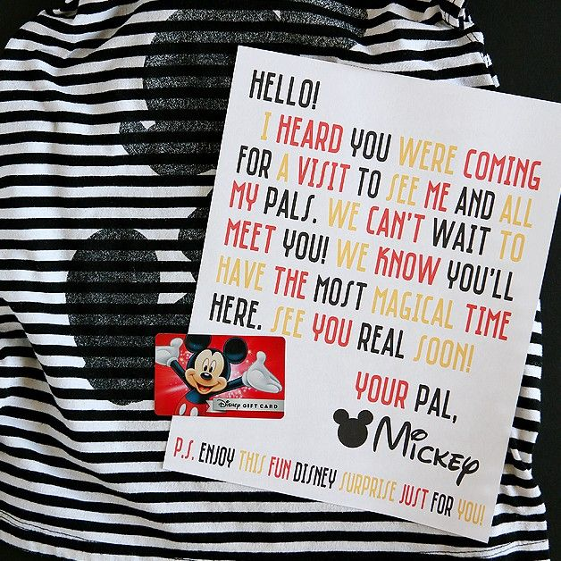 disney magic mickey mail printable letters disney magic and free printable. Black Bedroom Furniture Sets. Home Design Ideas