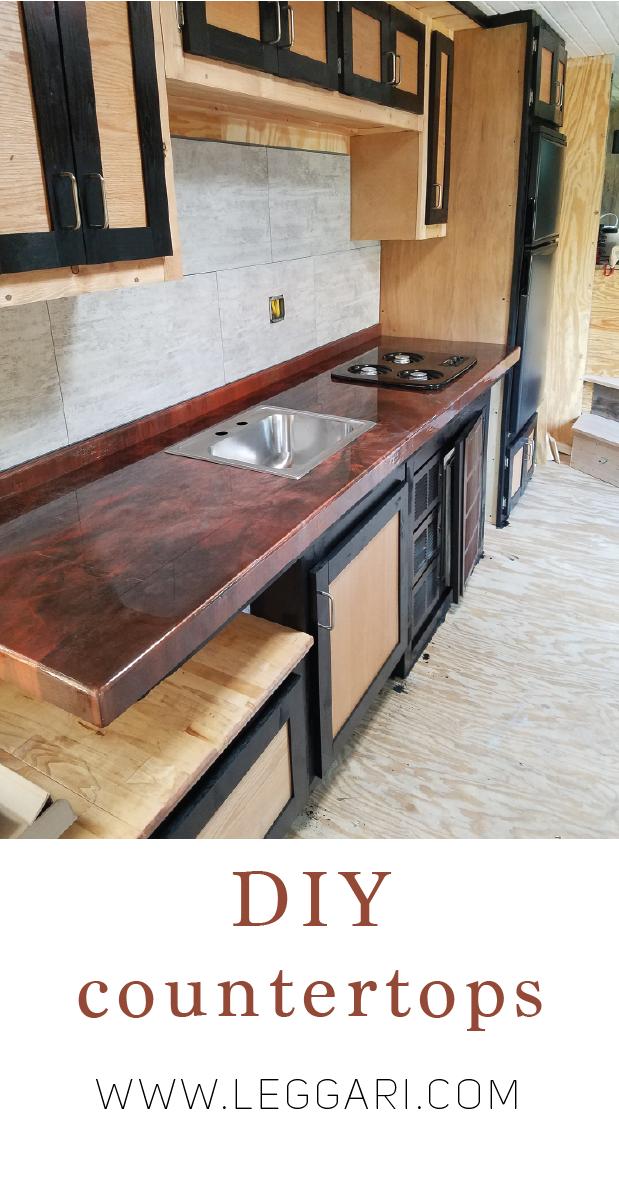 Diy Countertops Leggari Order A Kit Today And Transform Your