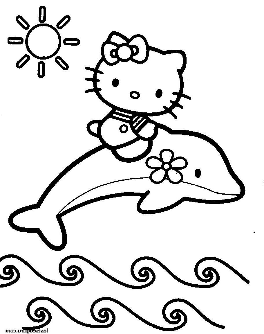 Coloring Pages To Print Out Hello Kitty Colouring Pages Dolphin Coloring Pages Hello Kitty Coloring