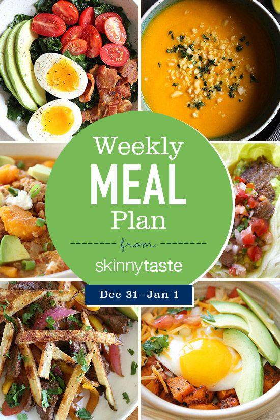 Skinnytaste Meal Plan (December 31January 6