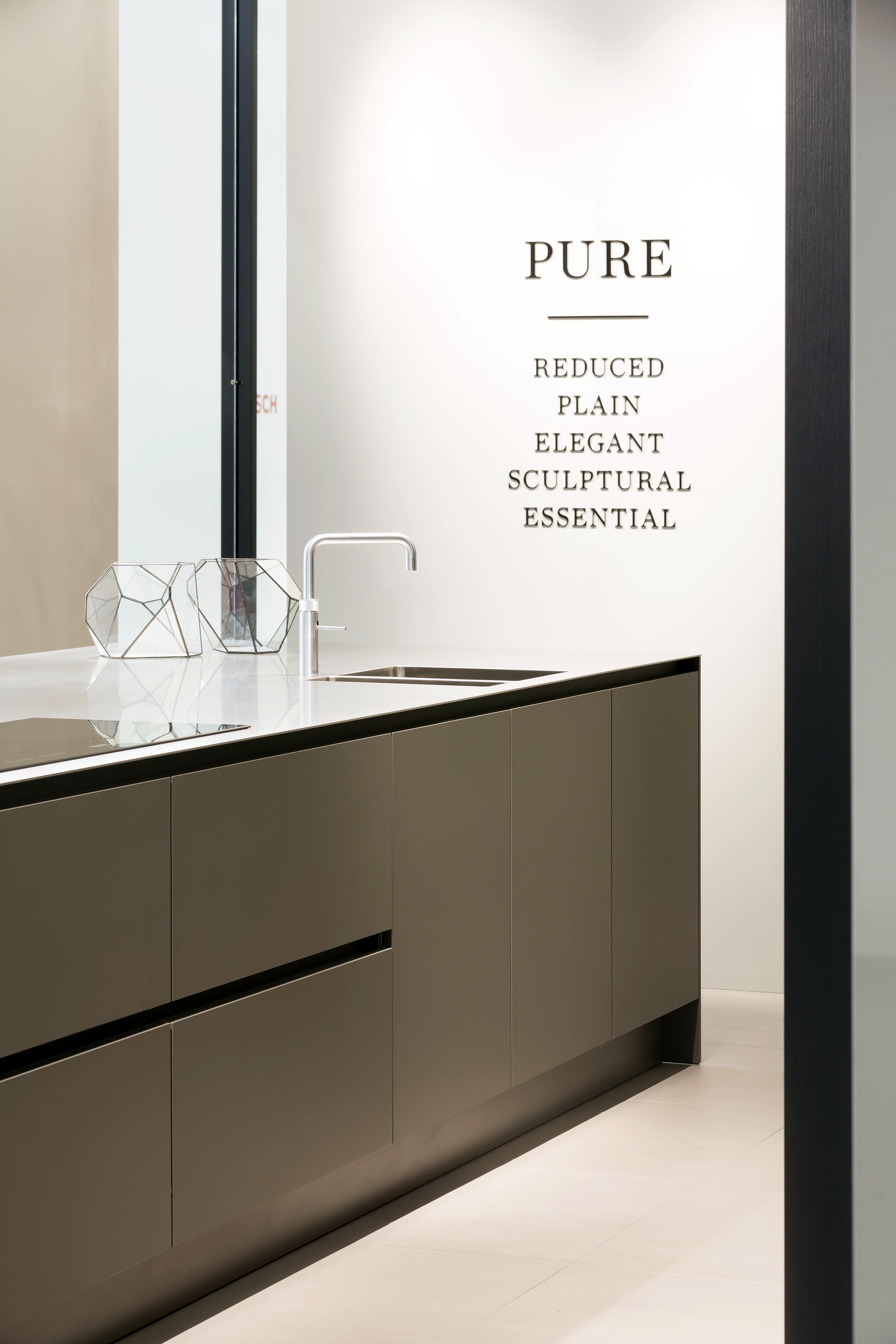 siematic pure: color umbra | siematic batibouw 2015 | pinterest ... - Kche Siematic