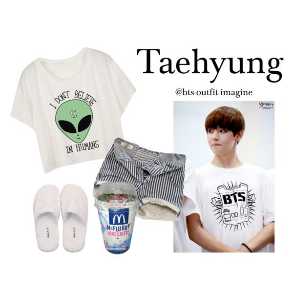 Cuddling with V by bts-outfit-imagine on Polyvore featuring polyvore, arte,