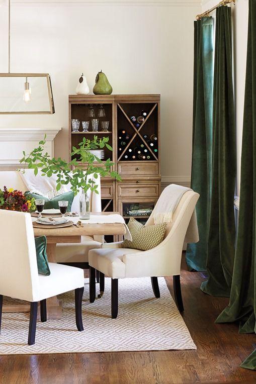 olive green velvet drapes Color my walls Pinterest Olives