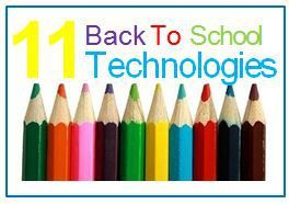 11 Essential #BackToSchool #Technologies! Click here to see great deals for Back to School!