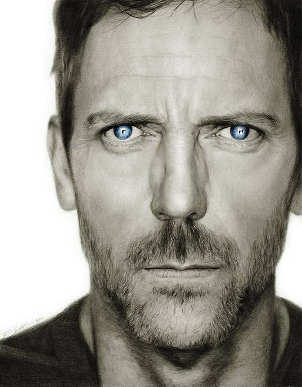 Do you like doctor house? look this draw of him