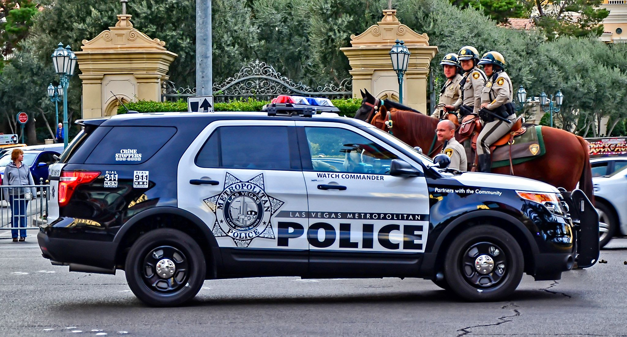 Las Vegas Metropolitan Police Watch Commander Police Cars Old Police Cars Police