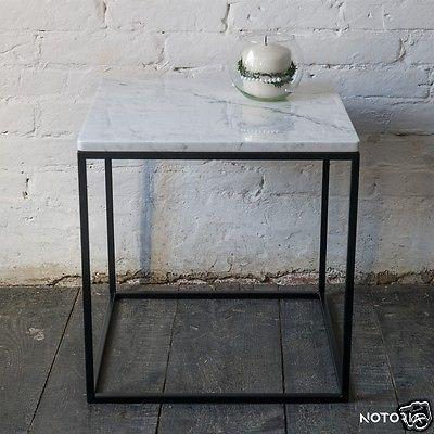 Couchtisch LAPIS Wohnzimmertisch Beistelltisch Metall Marmor - wohnzimmertisch modern