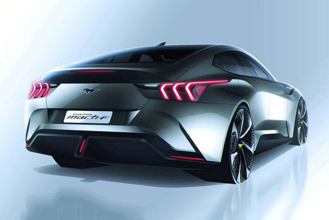 The Ford Mustang Mach F Concept Makes The Electric Vehicle Look Muscular Again In 2020 Ford Mustang New Ford Mustang Ford Company