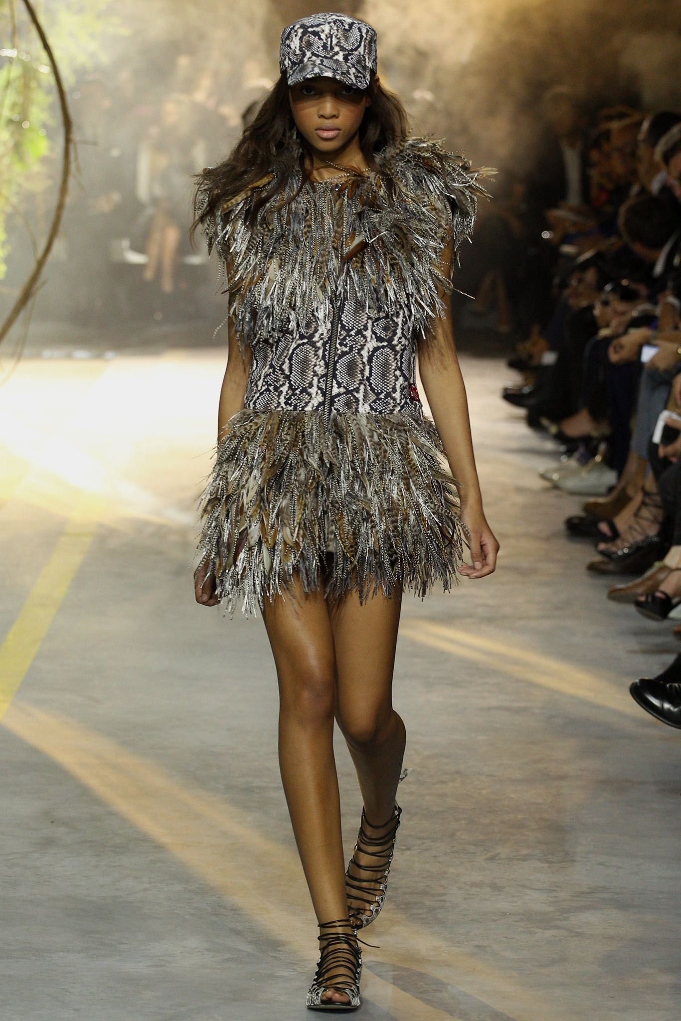 Love this wild dress. #MGRLZ2014 #fashion