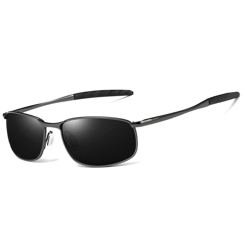 6d433ff8369 Sport Polarized Sunglasses for Men HD Lens Metal Frame Men s Sunglasses FD  9005 - Black Gun - CX188232AE7-Men s Sunglasses