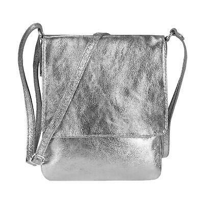 Photo of ITALy LEATHER BAG Metallic Crossbody Shoulder Bag Shoulder Bag Evening Bag: …