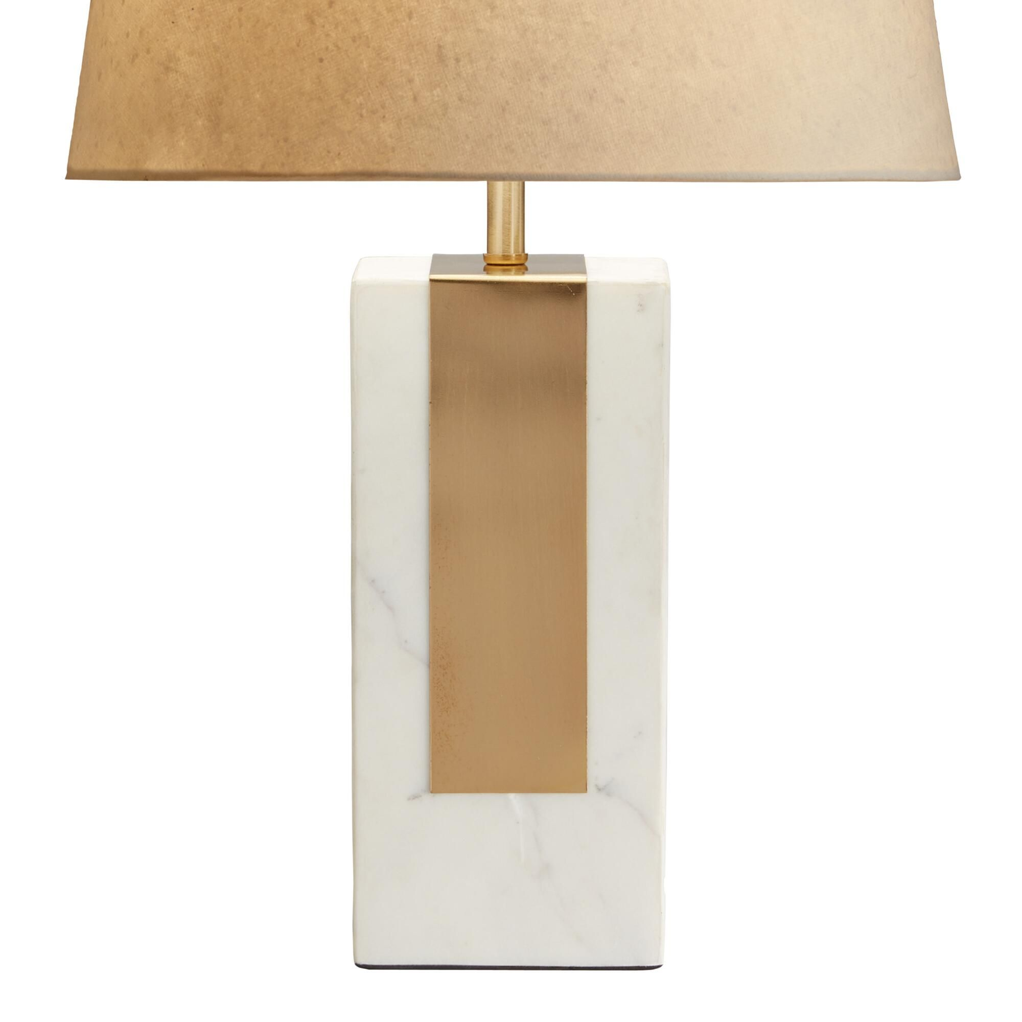 White Marble Block Table Lamp Base With Images Table Lamp Base