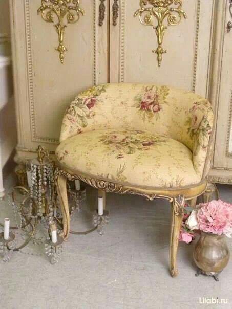 Shabbychic Boudoir Vanity Chair Shabby Chic Furniture Shabby