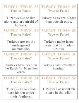 Thanksgiving quiz pdf