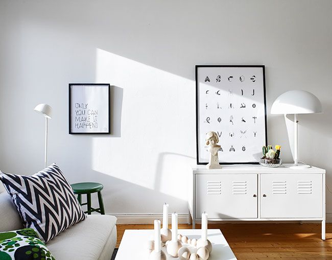 Idées pour aménager un (tout) petit appartement!