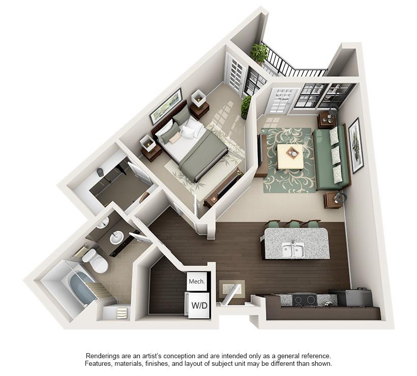 1, 2, & 3 Bedroom Birmingham, AL Apartments