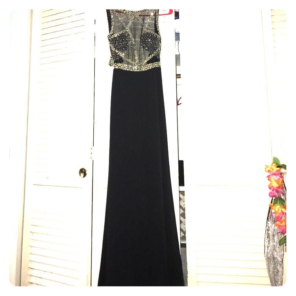 Black u rhinestone peaches prom dress peach prom dresses and products