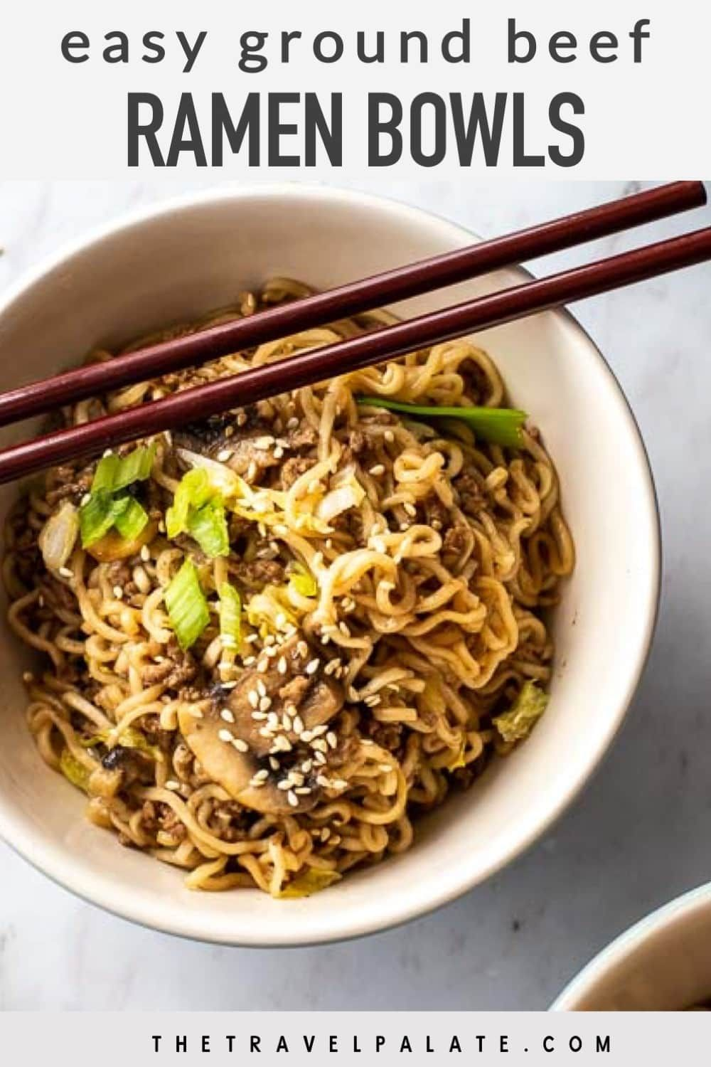 Ramen Noodles With Beef Is A Quick And Easy Dinner Recipe Full Of Asian Flavor Made With Packaged Ramen Noodles Gr Recipes Easy Dinner Recipes Dinner Recipes