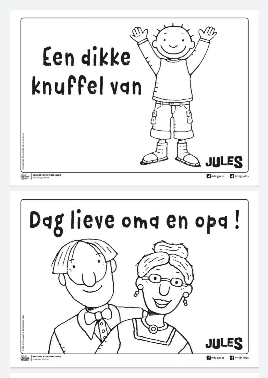 Pin Van Linda Debel Op Grootouders Knutselen Opa En Oma Grootouders Kleuterklas