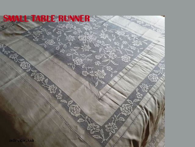 small table runner | tablecloth with embroidery | Pinterest | Small ...
