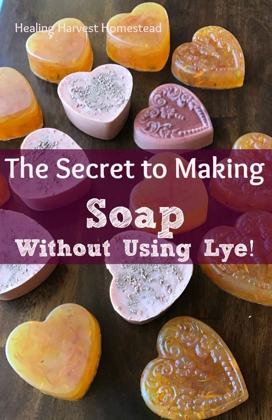 When I first became interested in learning to make my own soap, I did NOT want to mess with lye. So the question arose: Can you make soap without using Lye? The Answer: Yes. And No. Find out how to get around using lye in hand made soap!  Schedule