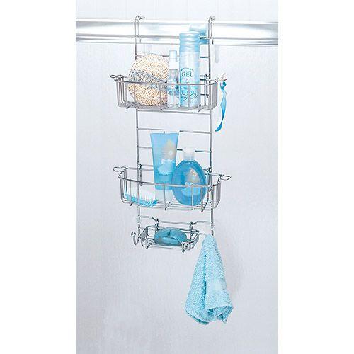 $20, walmart- Hanging Bathroom Shower Caddy, 23.0 x 11.8 x 8.6 ...