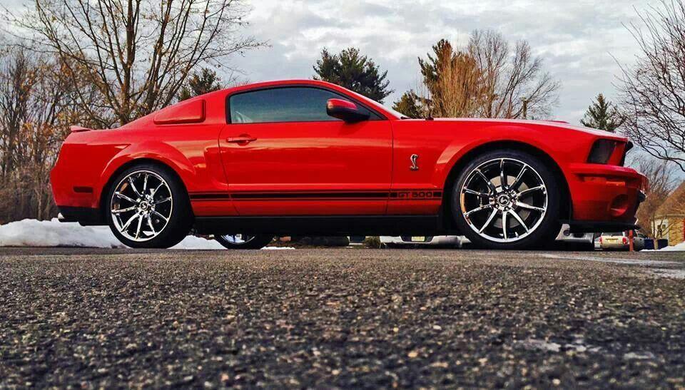 GT500 Chrome Black Mamba Wheels American Design 20