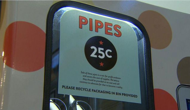 Crack Pipe Vending Machines Operating in Vancouver, Canada